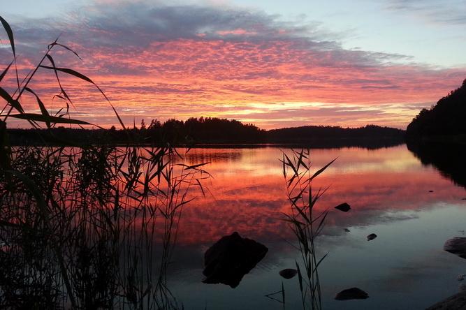 3-solnedgång